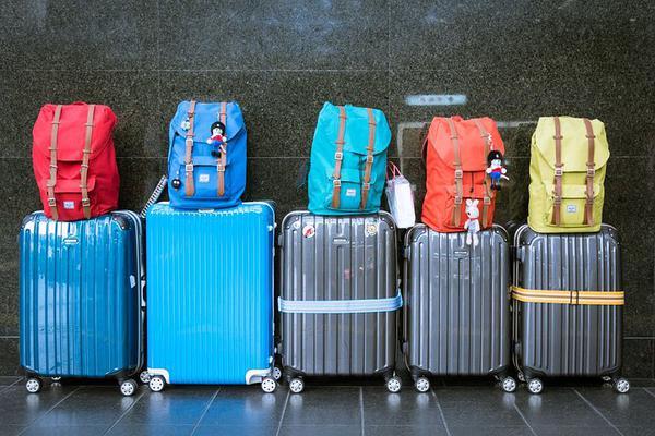 duże walizki na 4 kółkach